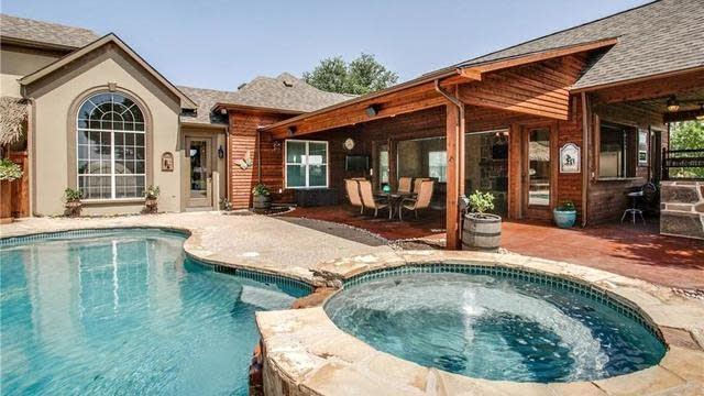 Photo 1 of 36 - Backyard Paradise with Outdoor Living. - 3195 Falcon Rd, Prosper, TX 75078