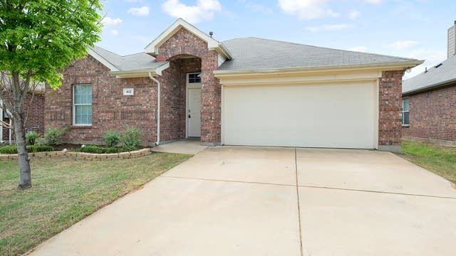 Photo 1 of 24 - 412 Angler Dr, Crowley, TX 76036