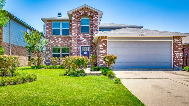Photo 1 of 32 - 2336 White Oak Dr, Little Elm, TX 75068