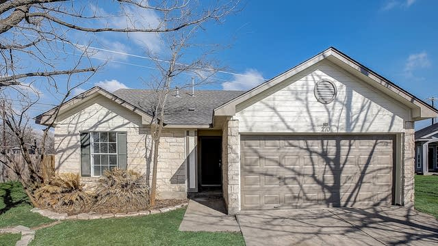 Photo 1 of 34 - 270 Bailey Loop, Kyle, TX 78640
